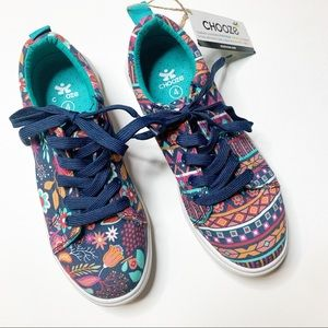 Chooze Big Choice Boho sneakers floral youth 4